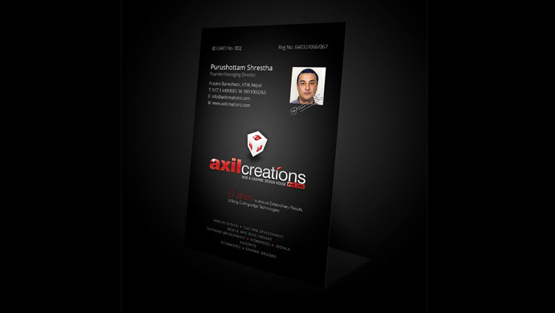 Office ID Card Design