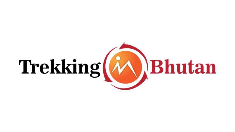 Bhutan Trekking Logo Design